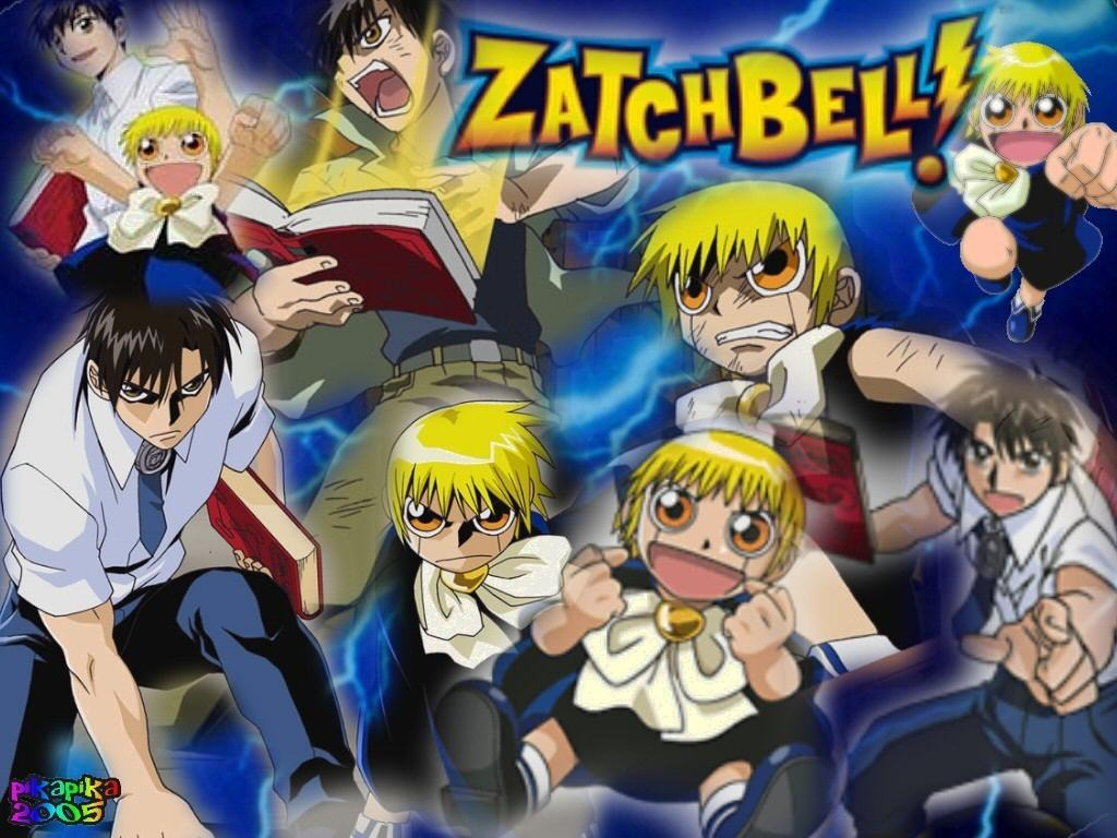 Zatch Bell Wallpaper Wallpapersafari