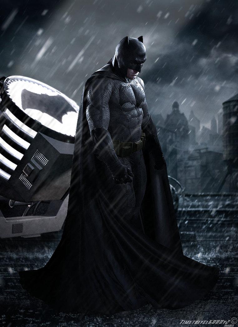 Batman v Superman Dawn of Justice Batman Poster by Timetravel6000v2 763x1048