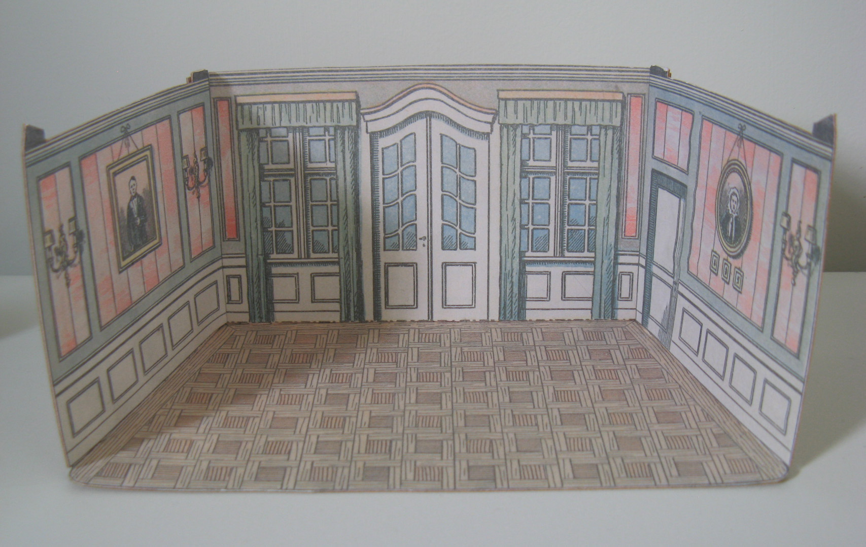 photo about Printable Dollhouse Flooring named Printable Dollhouse Wallpaper Floor Types Air Media