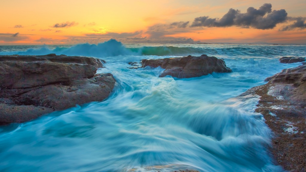 and Waves HD Wallpaper 10 Beautiful HD Nature Wallpapers for Ubuntu 1024x576