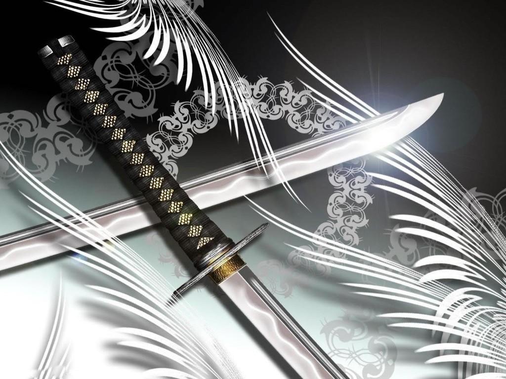 Wallpaper Ninja Black Sword