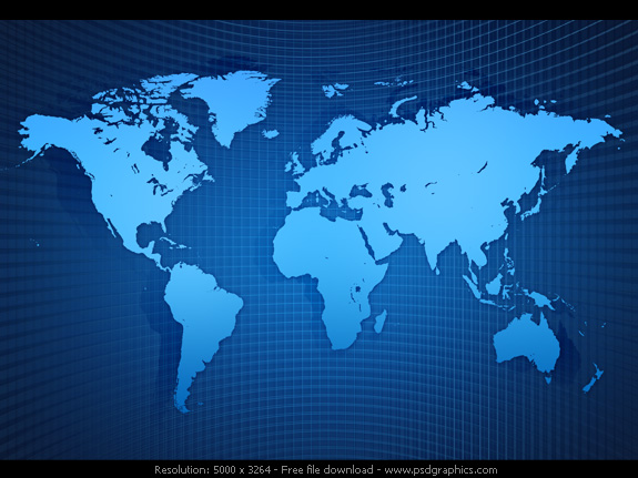 Earth Articles at PSDGraphics 575x431