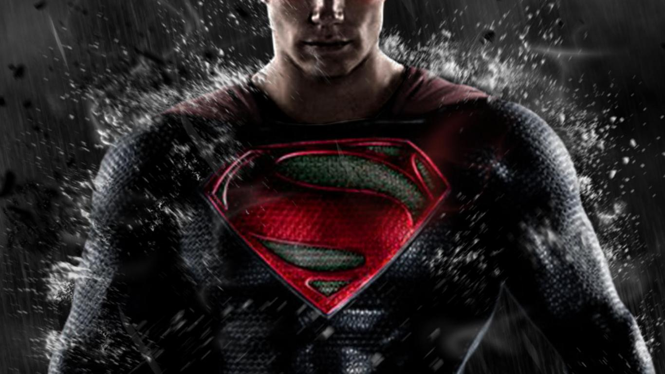Man of Steel Water Splash Wallpapers HD 1366x768