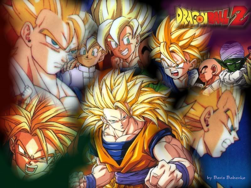 Dragon Ball GT Background   Dragon Ball GT Wallpaper for Desktop 800x600