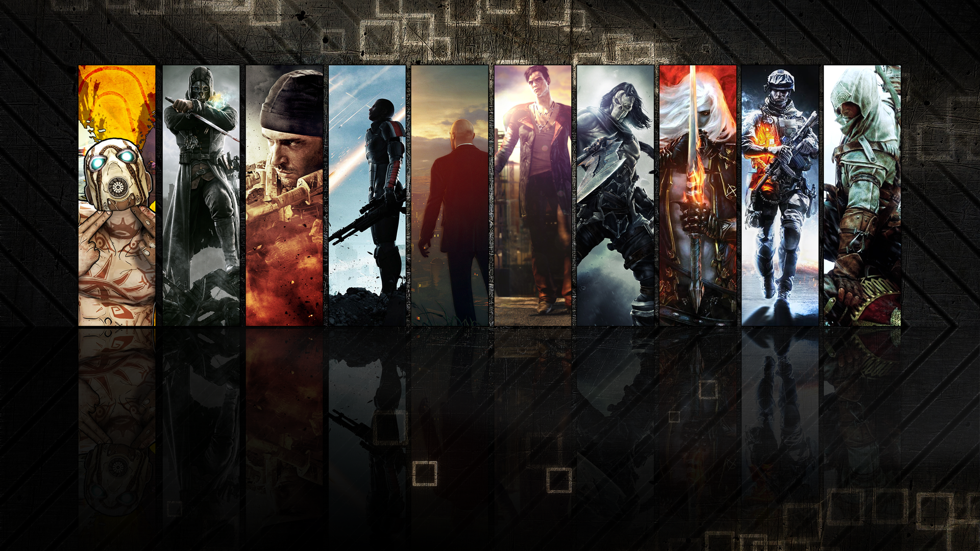 Video game characters Wallpaper 4040 1920x1080