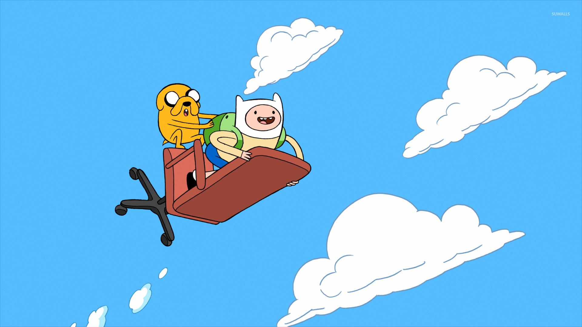 Finn and Jake   Adventure Time [3] wallpaper   Cartoon 1920x1080