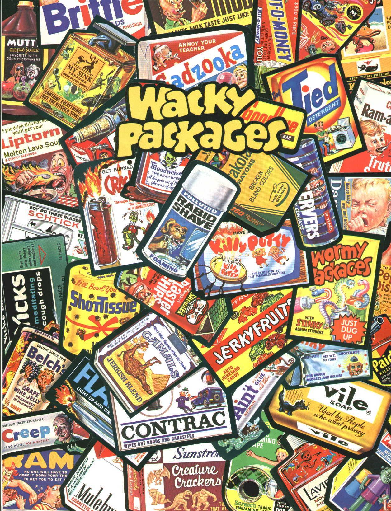 Wacky Packages Wallpaper 1256x1642