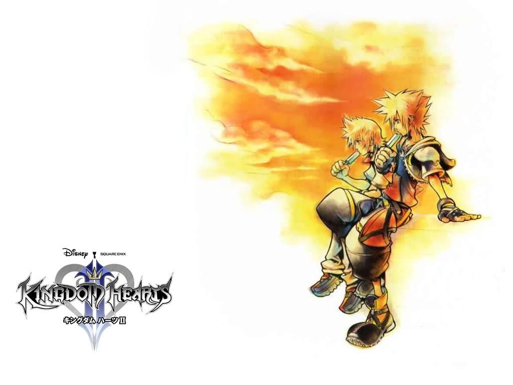 Free Download Kingdom Hearts 2 The Final Mix Wallpaper Kingdom