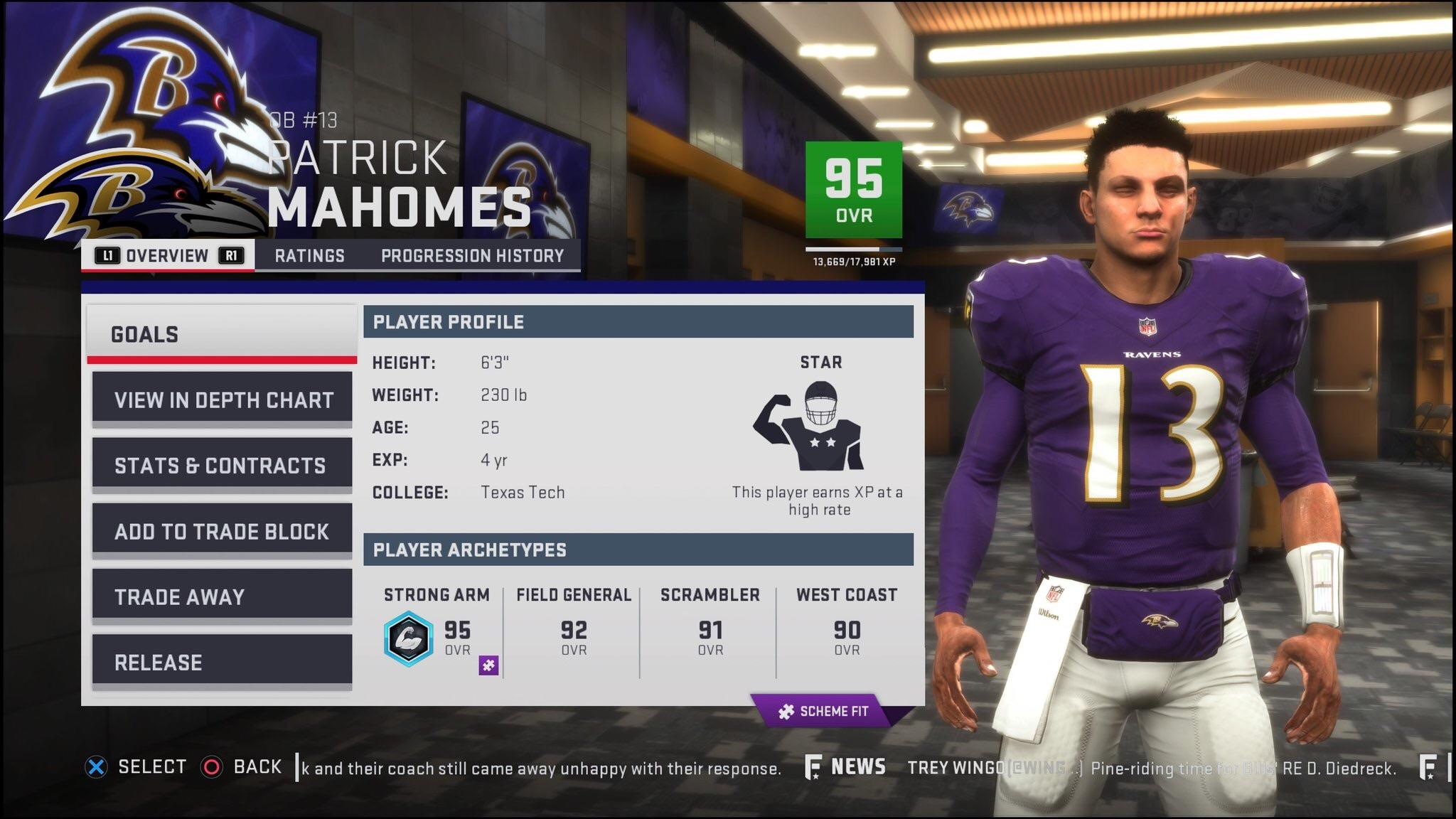 Chiefs cut Patrick Mahomes during preseason Picked up to replace 2048x1152