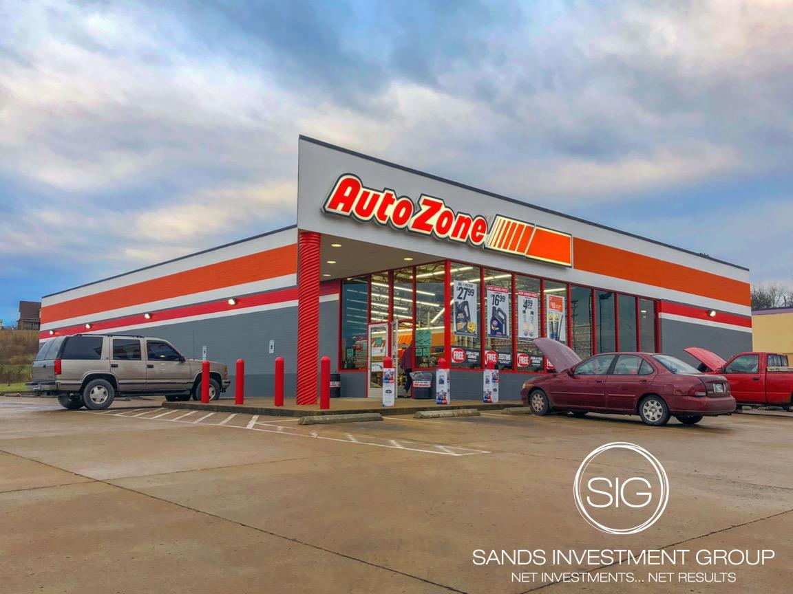 AutoZone Net Lease Investment Automotive Woodbury Tennessee 1152x864