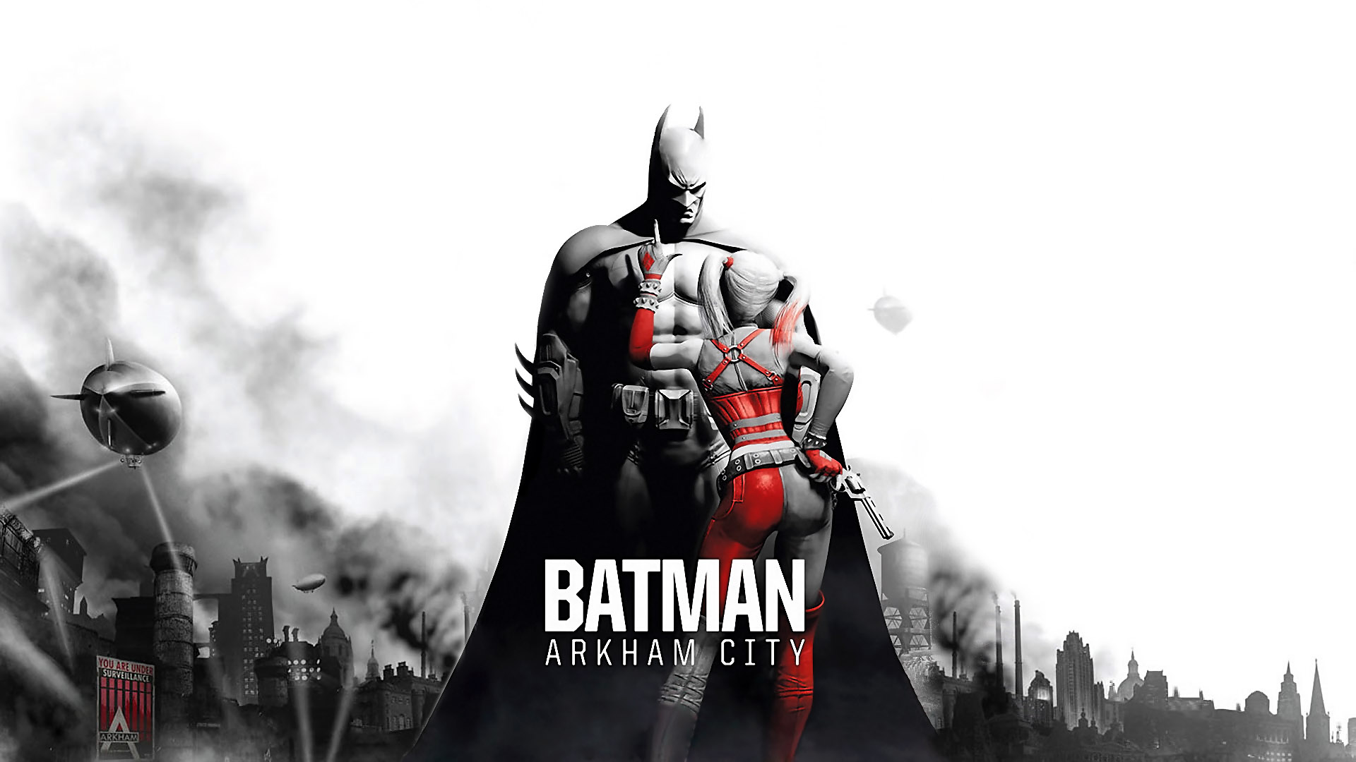 Batman Arkham City Batman Harleyjpg 1920x1080