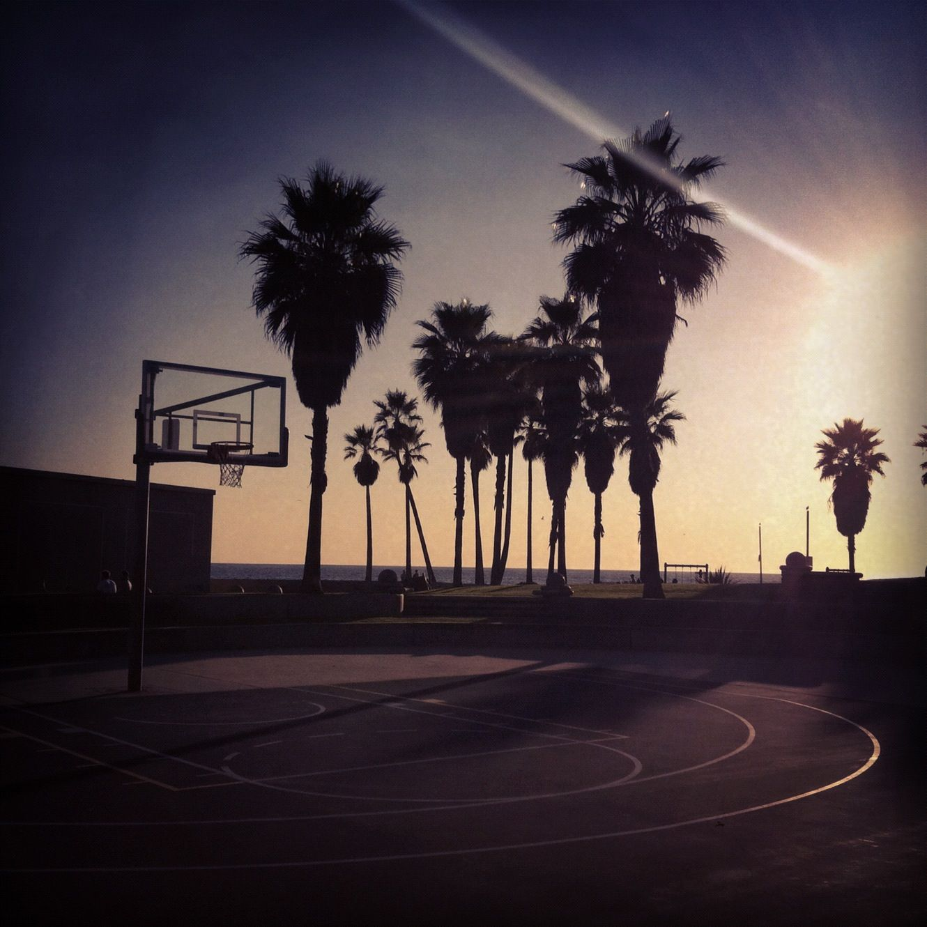 Venice Beach Basketball Court i love this game Street 1330x1330
