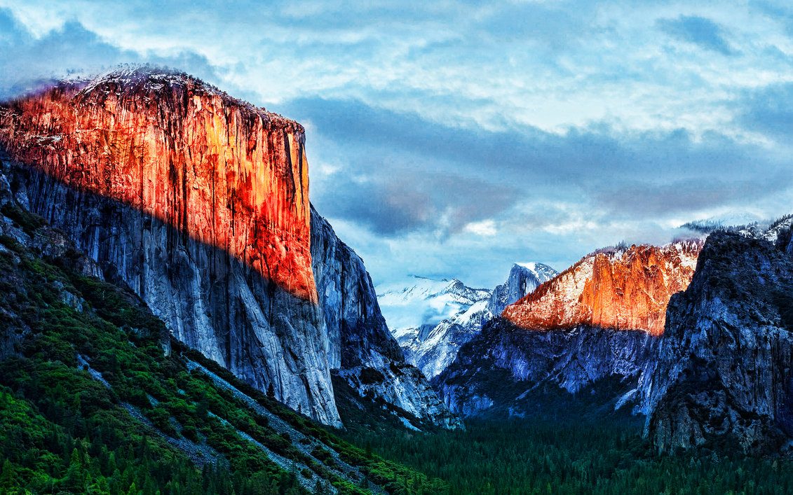 OS X El Capitan 5K wallpaper mod by vndesign 1131x707