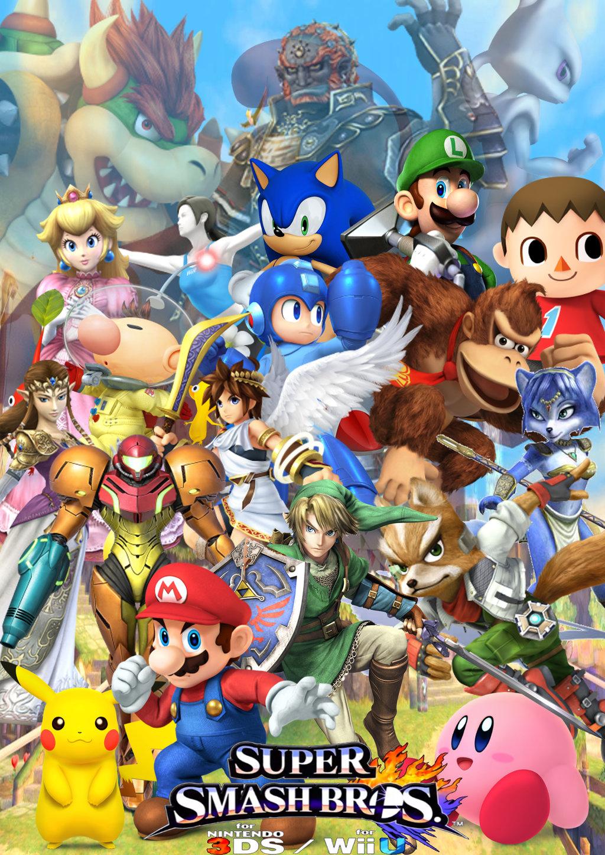 Free Download Super Smash Bros Wii U Wallpaper Hd Super Smash Bros