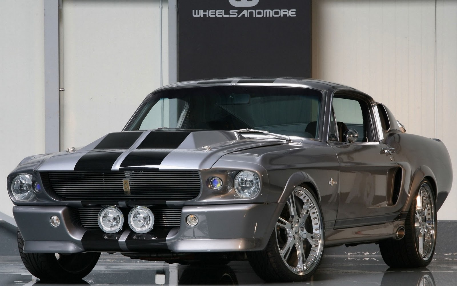 Old Muscle Cars Hd Wallpapers Wallpapersafari Ford Mustang Coupe 302 V8 Oldtimer 1967 Horsepower Pinterest Cool Car Wallpaper 1600x1000
