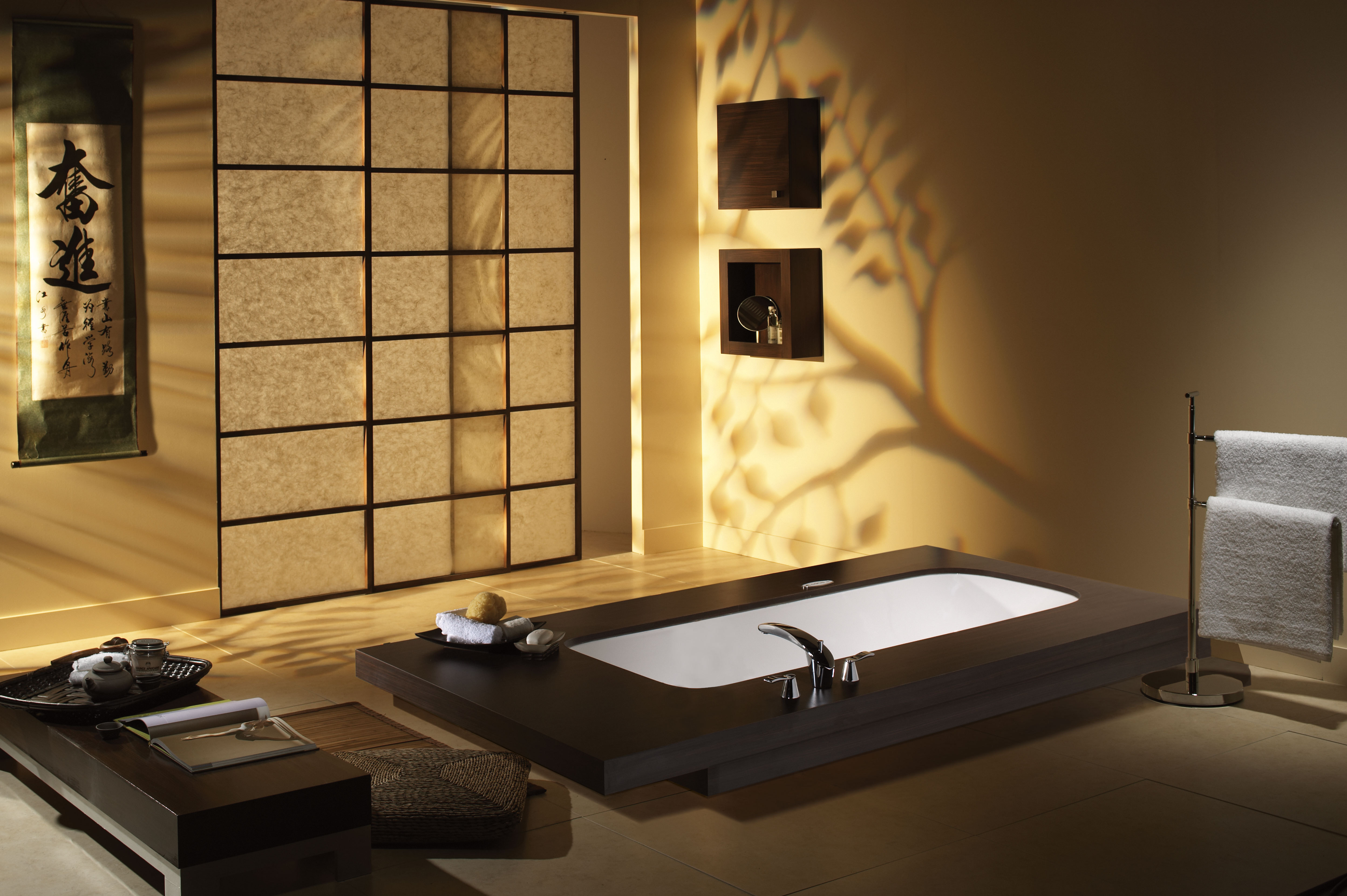 inredning badrum japansk stil minimalism vektor   ForWallpapercom 4992x3320