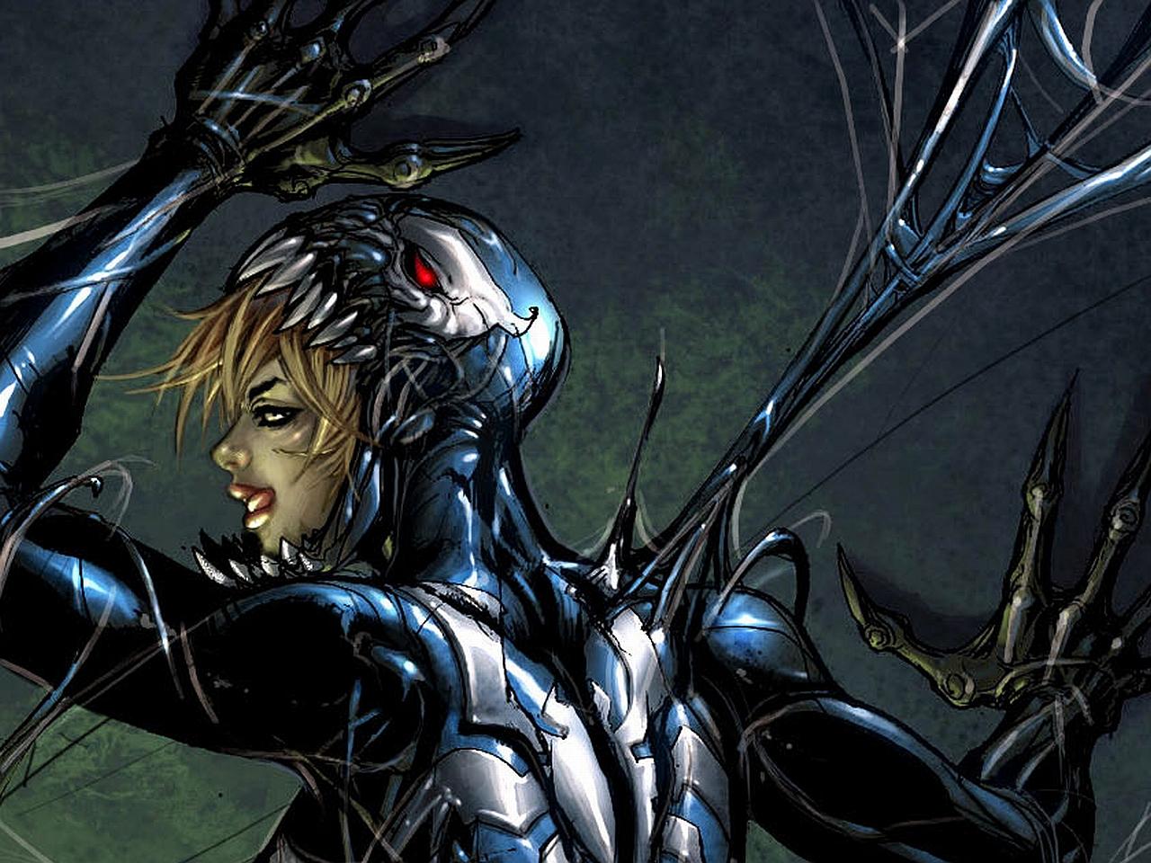 Agent Venom Marvel Wallpaper 1280x960
