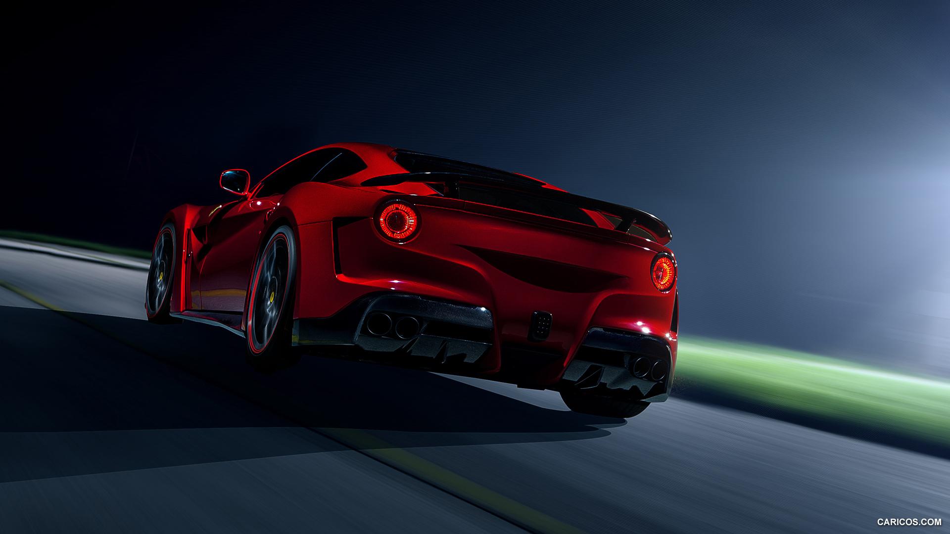 2014 NOVITEC ROSSO N LARGO Ferrari F12berlinetta   Rear HD 1920x1080