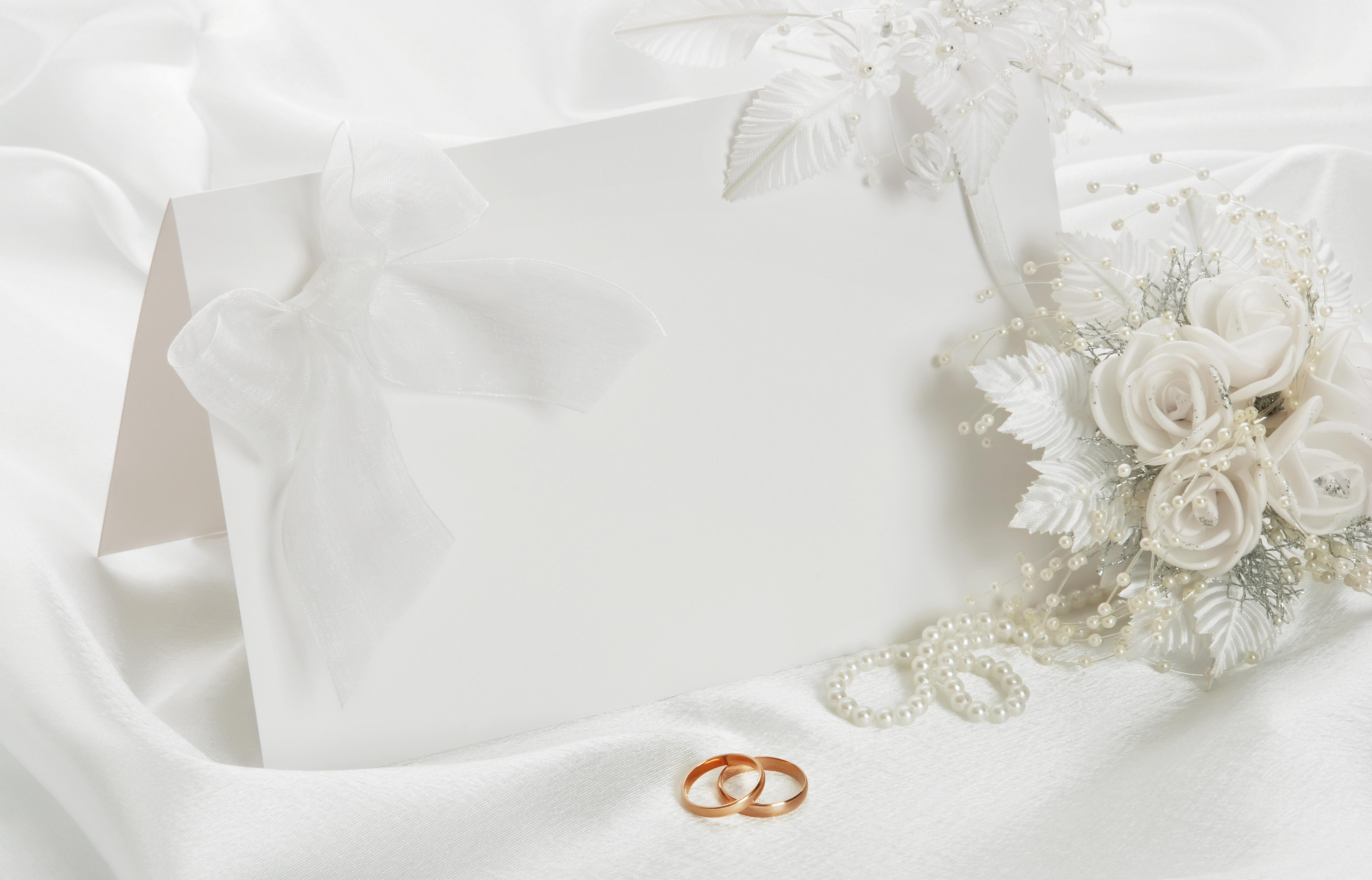 Elegant Wedding Wallpaper 4950x3176