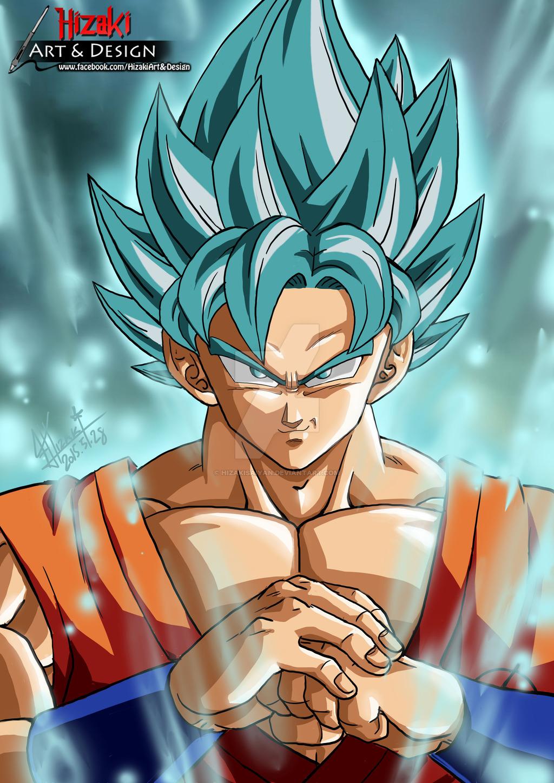 Goku ssgss by HizakiSaiyan 1024x1448