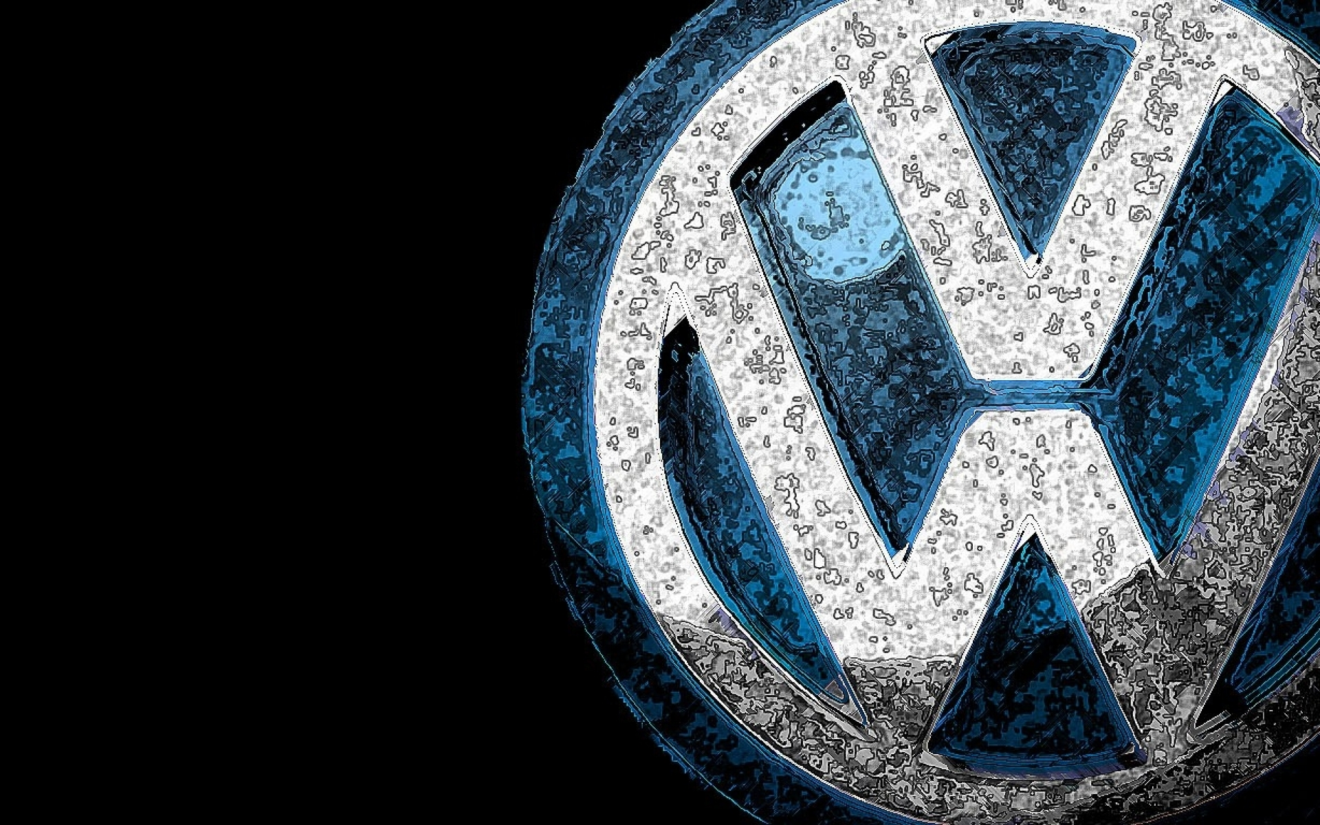 vw logo wallpaper wallpapersafari. Black Bedroom Furniture Sets. Home Design Ideas