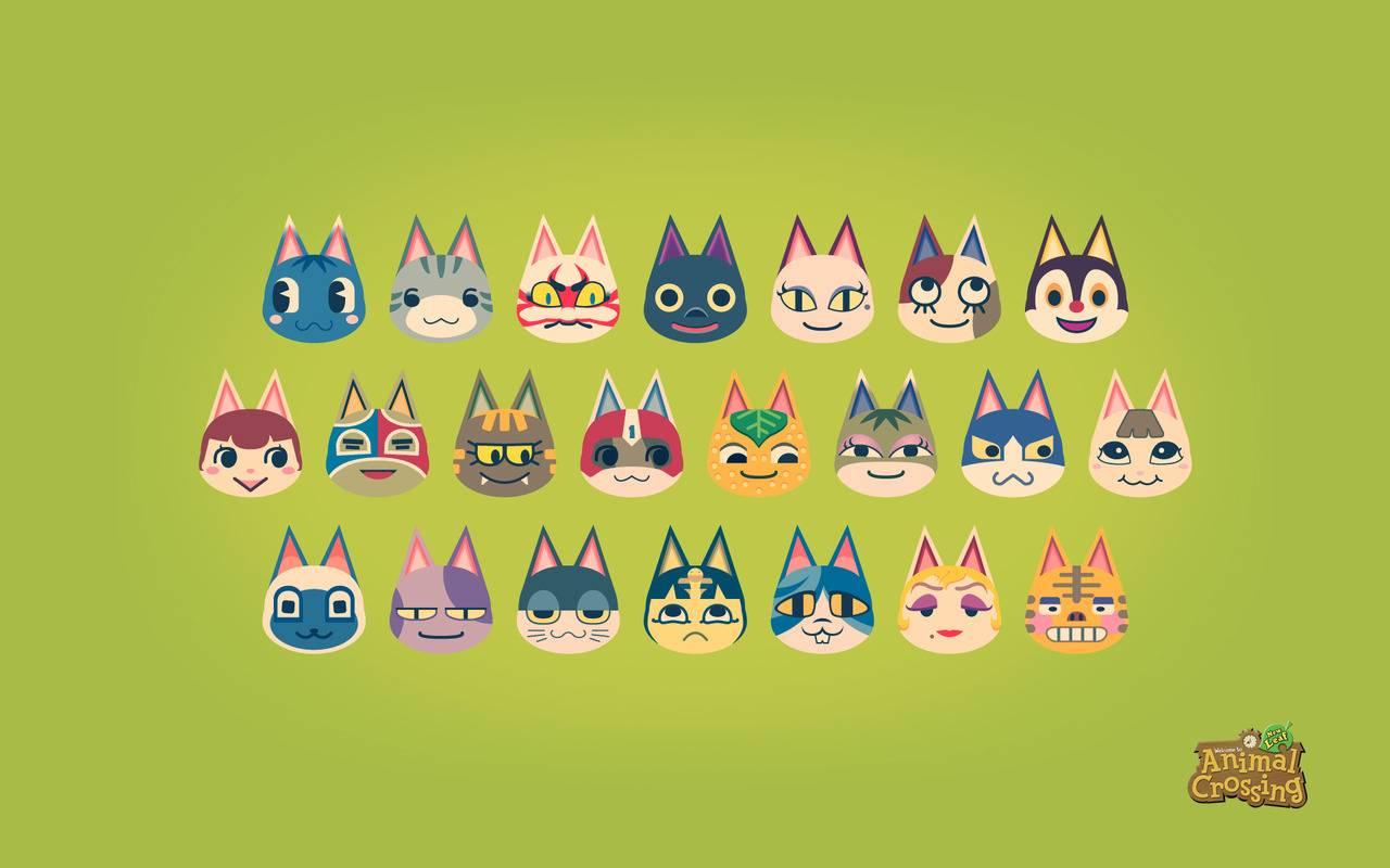 Cute Animal Crossing Cats