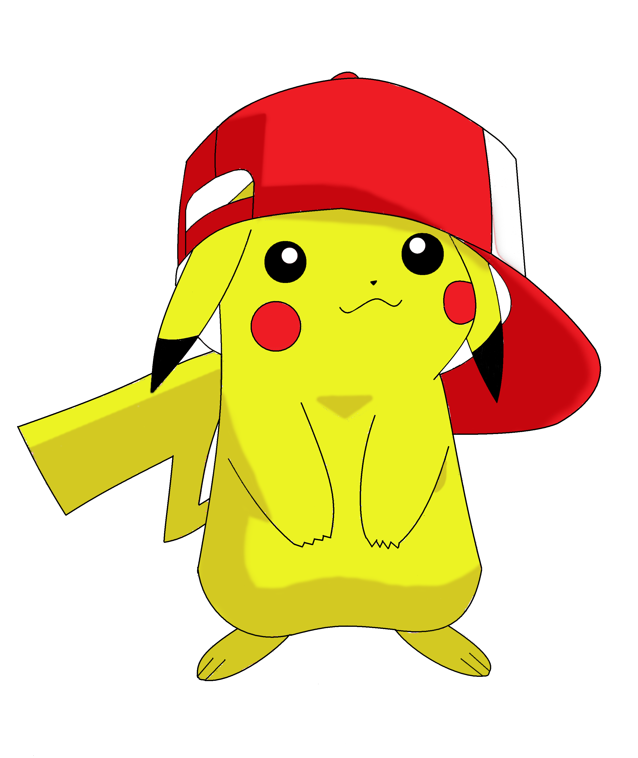 Pokemon pikachu white background wallpaper background 2538x3016