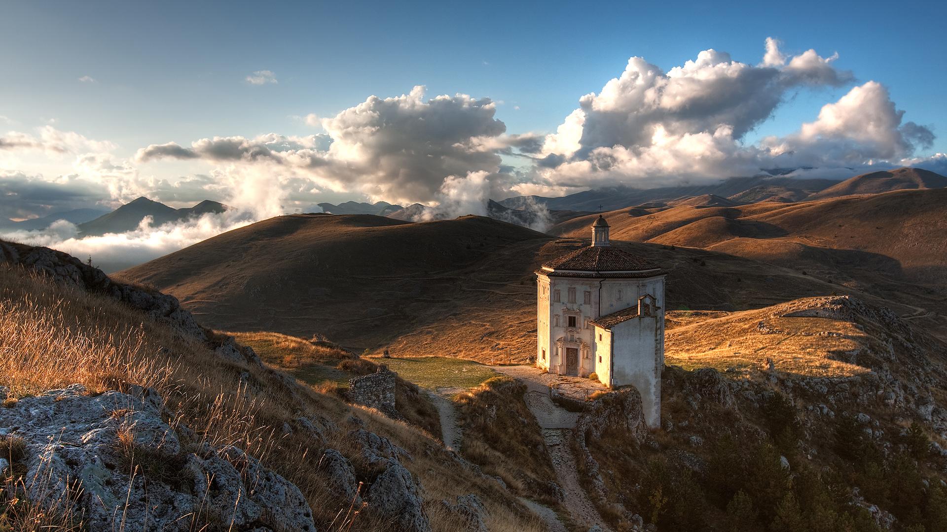 Hd wallpaper landscape - Landscape Full Hd Wallpaper 1080p Mountains Clouds Full Hd