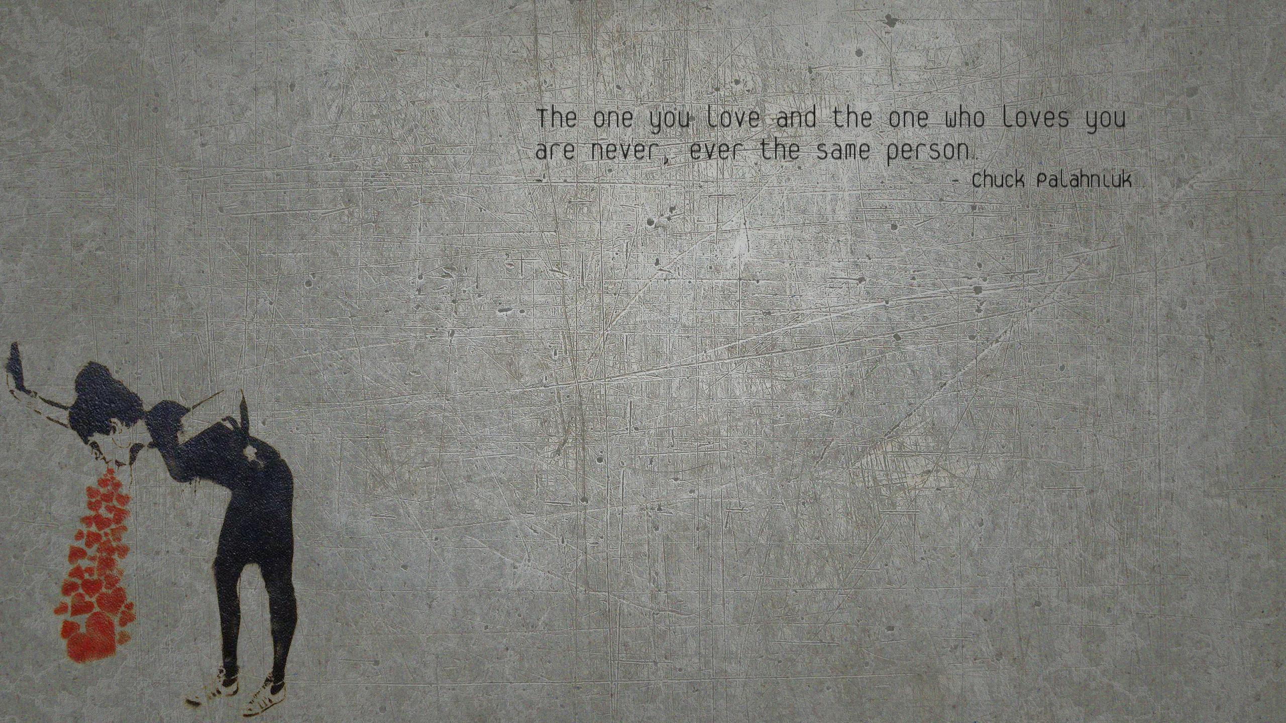 Chuck Palahniuk Quotes 10   1280 X 800   Inspirational e quotescom 2560x1440