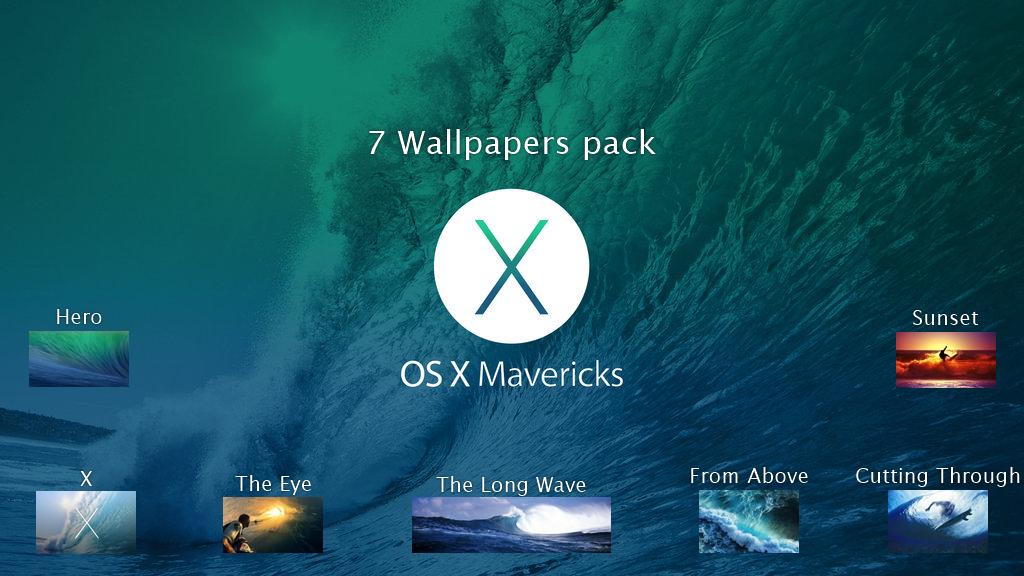 wallpaper pack update for this post iOS 7 OS X Mavericks Wallpaper 1024x576
