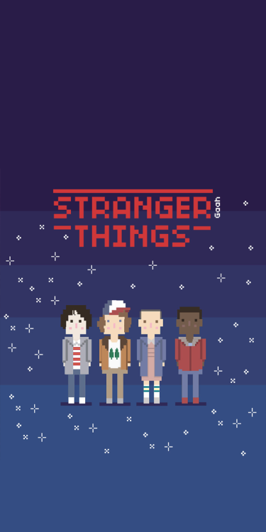 stranger things wallpapers Tumblr 375x750