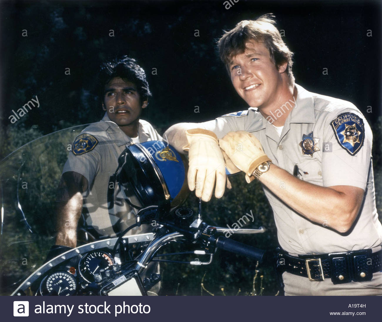 chips tv series 1977 1983 erik estrada larry wilcox A19T4Hjpg 1300x1095