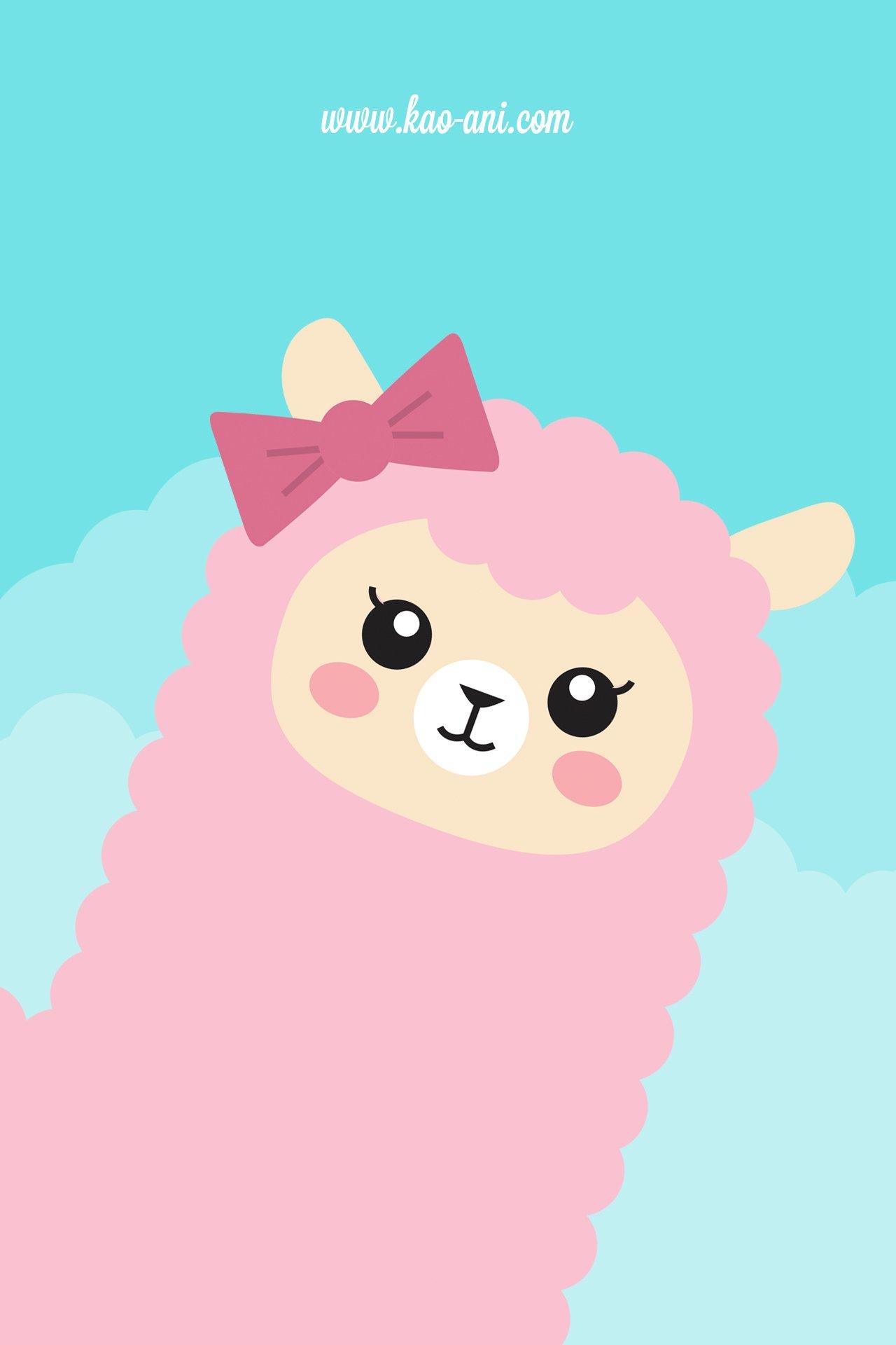 Iphone Backgrounds Tumblr Cute Alpaca iphone wallpaper 1280x1920