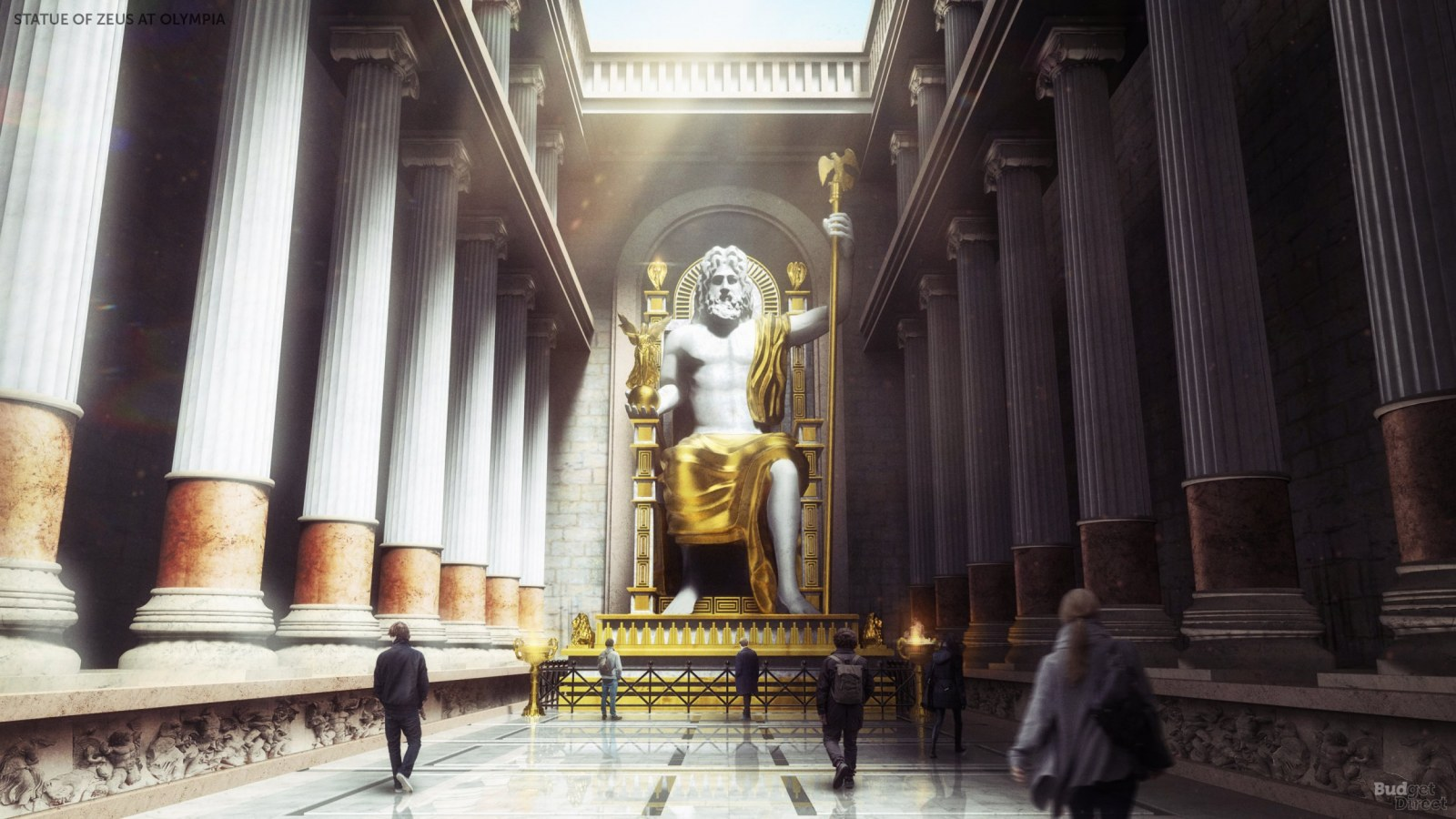 The Seven Wonders of the Ancient World Digitally Reconstructed 1600x900