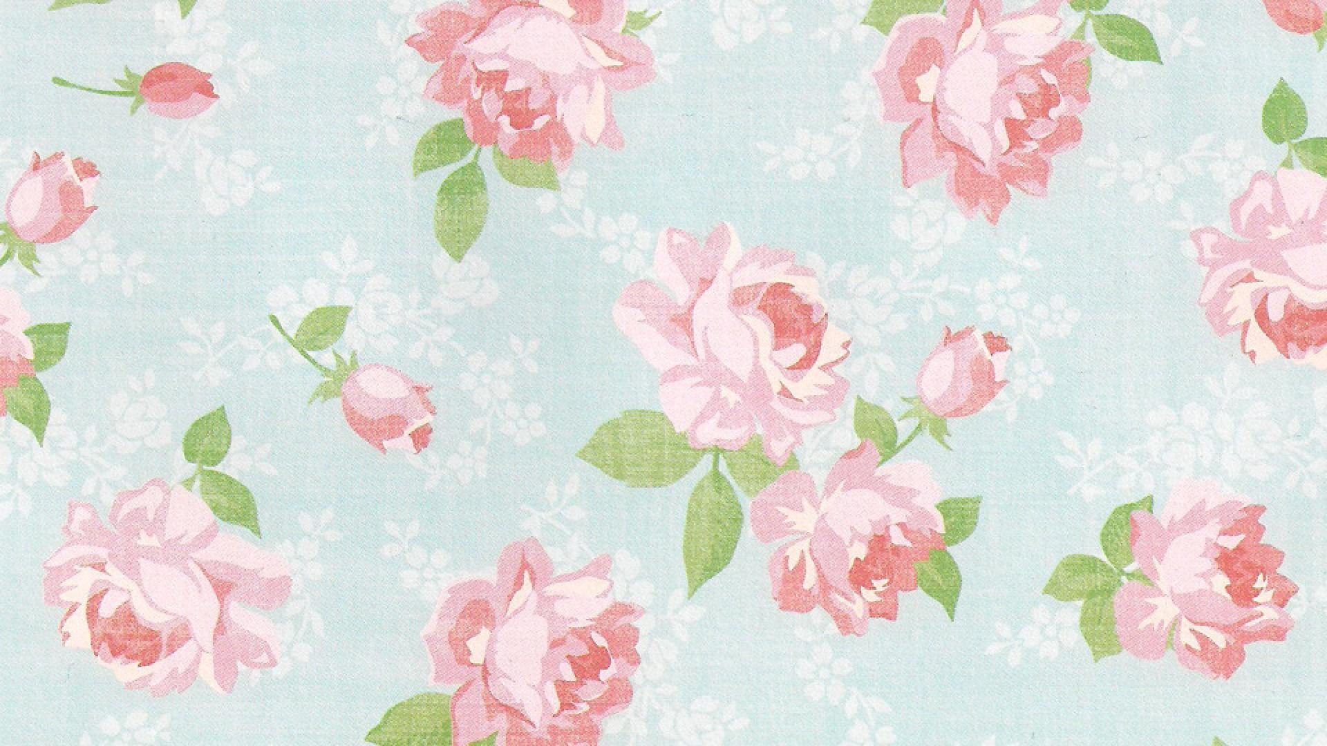 Vintage Floral Wallpaper Uk