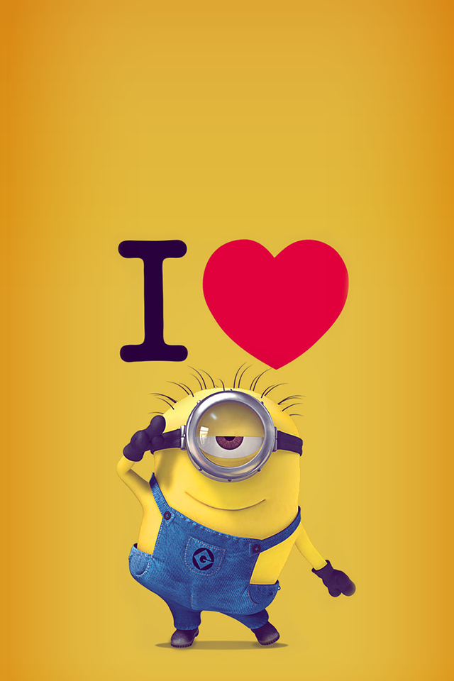 TAP AND GET THE FREE APP Art Cartoon Fun Despicable Me 640x960