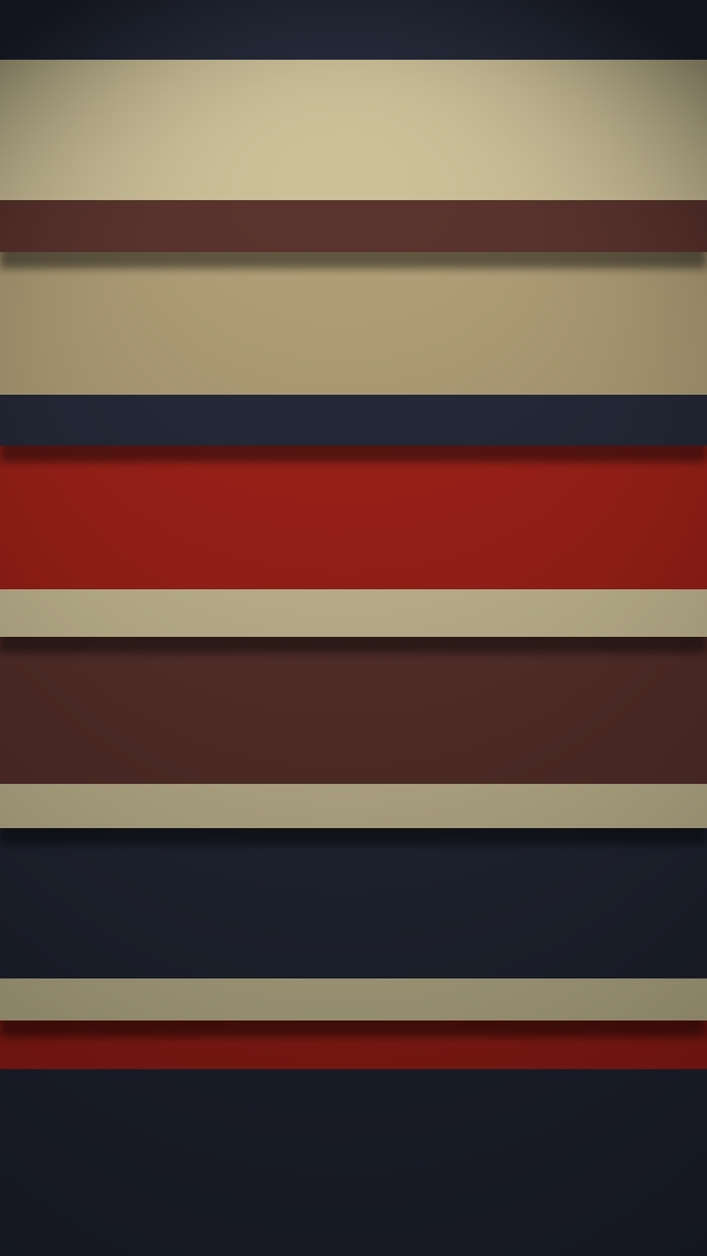 Retro Stripy Shelves   The iPhone Wallpapers 640x1136