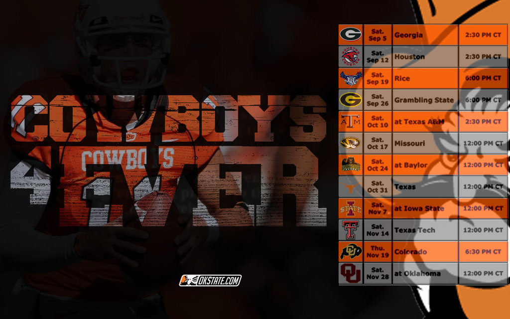 OSU Cowboys 2009 Wallpaper by Jone Yee 1024x640