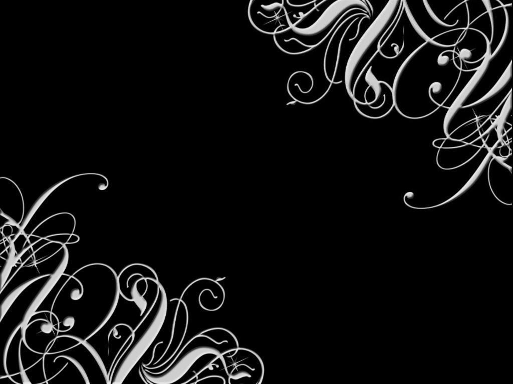 White Wallpaper Design : White and black background wallpapersafari