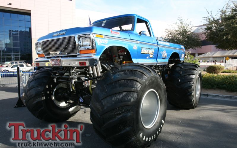 2009 Sema Show Dan Ward Bigfoot Monster Truck Photo 110 799x499