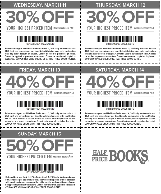 Back to Half Price Books Coupons HD Wallpaper 679x819
