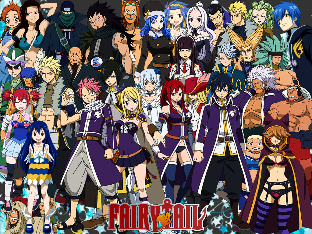 The Fairy Tail Guild Fairy Tail 1024x768