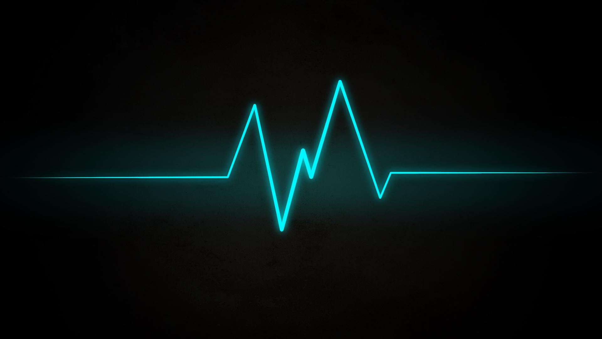 Heartbeat wave wallpaper   222193 1920x1080