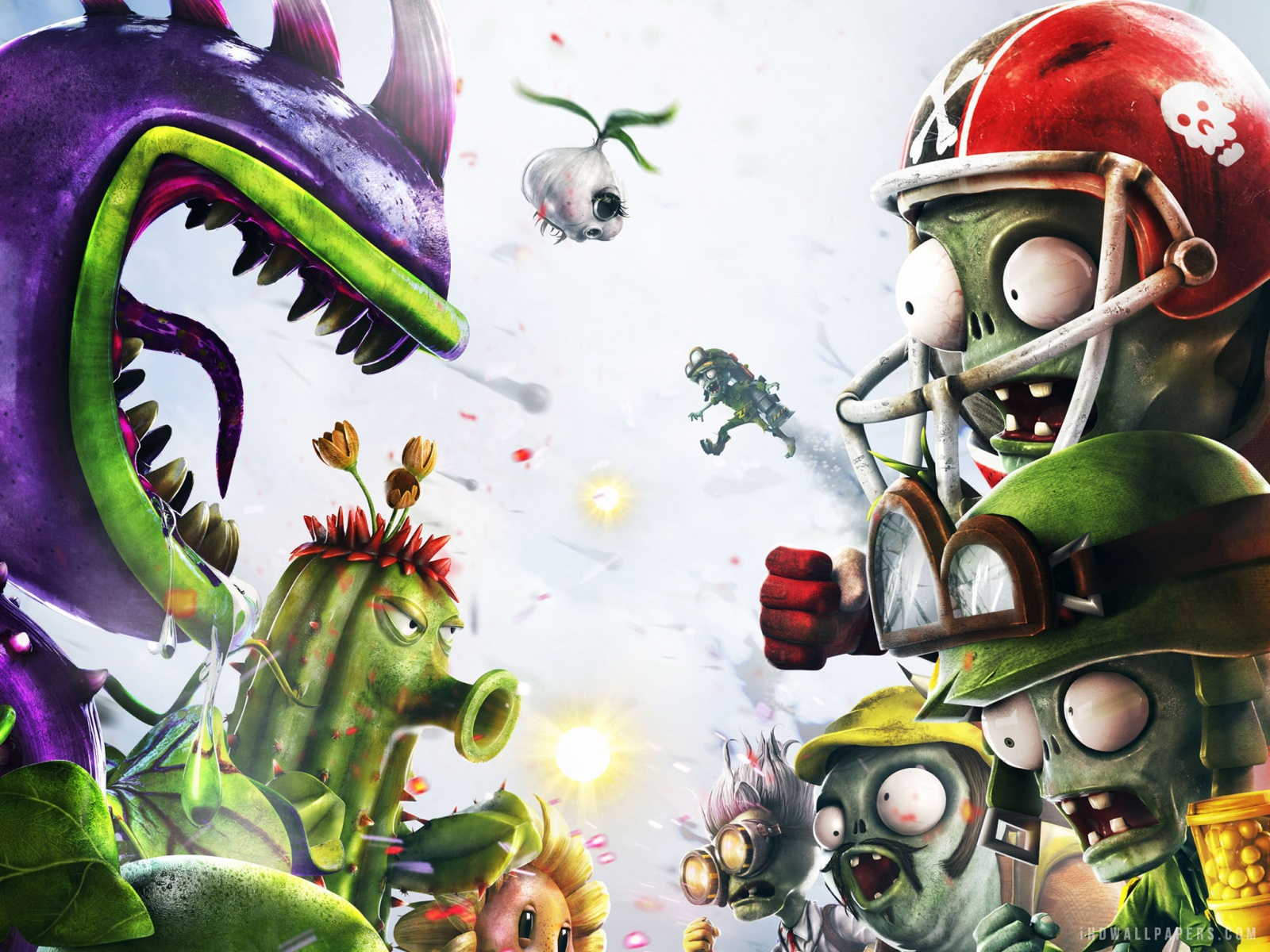 pvz garden warfare wallpapers - wallpapersafari