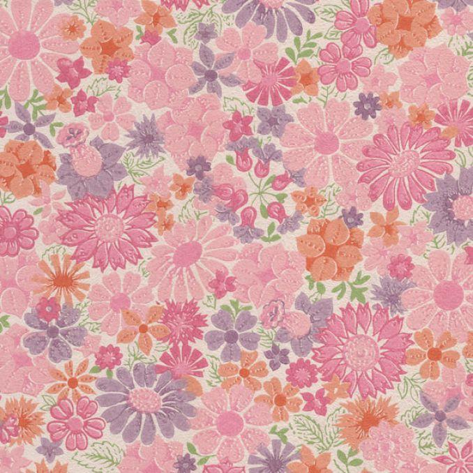 Pink Retro Wallpaper - WallpaperSafari