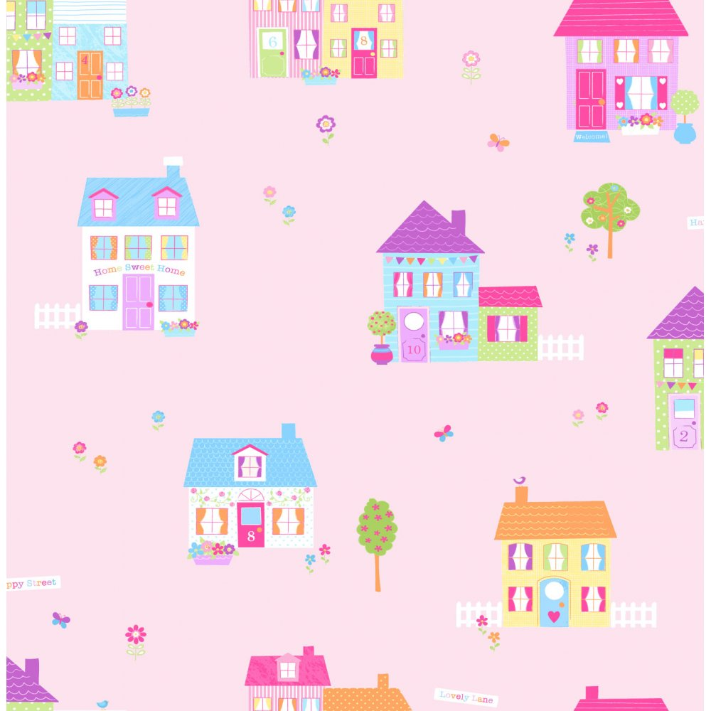 Children's Wallpaper for Girls