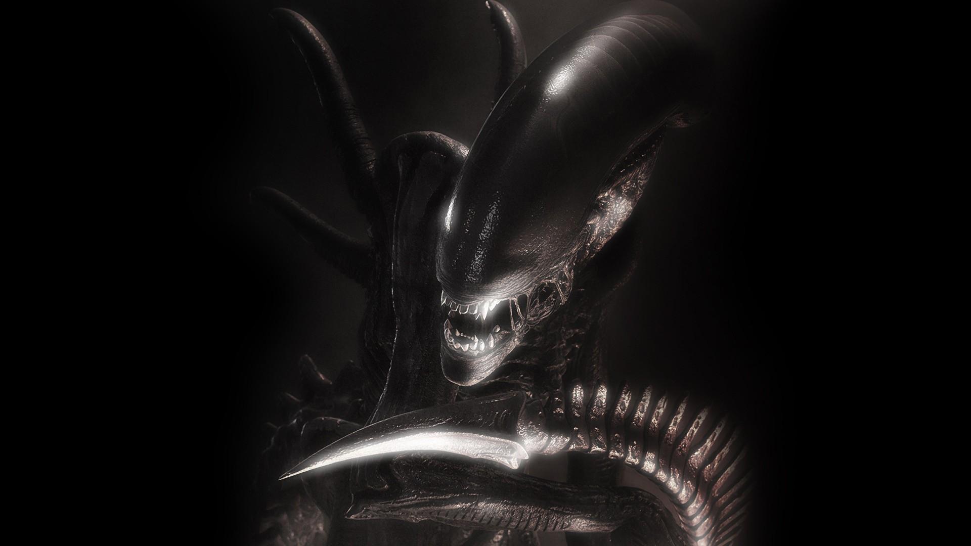 H R Giger Alien movie Xenomorph Wallpapers HD 1920x1080