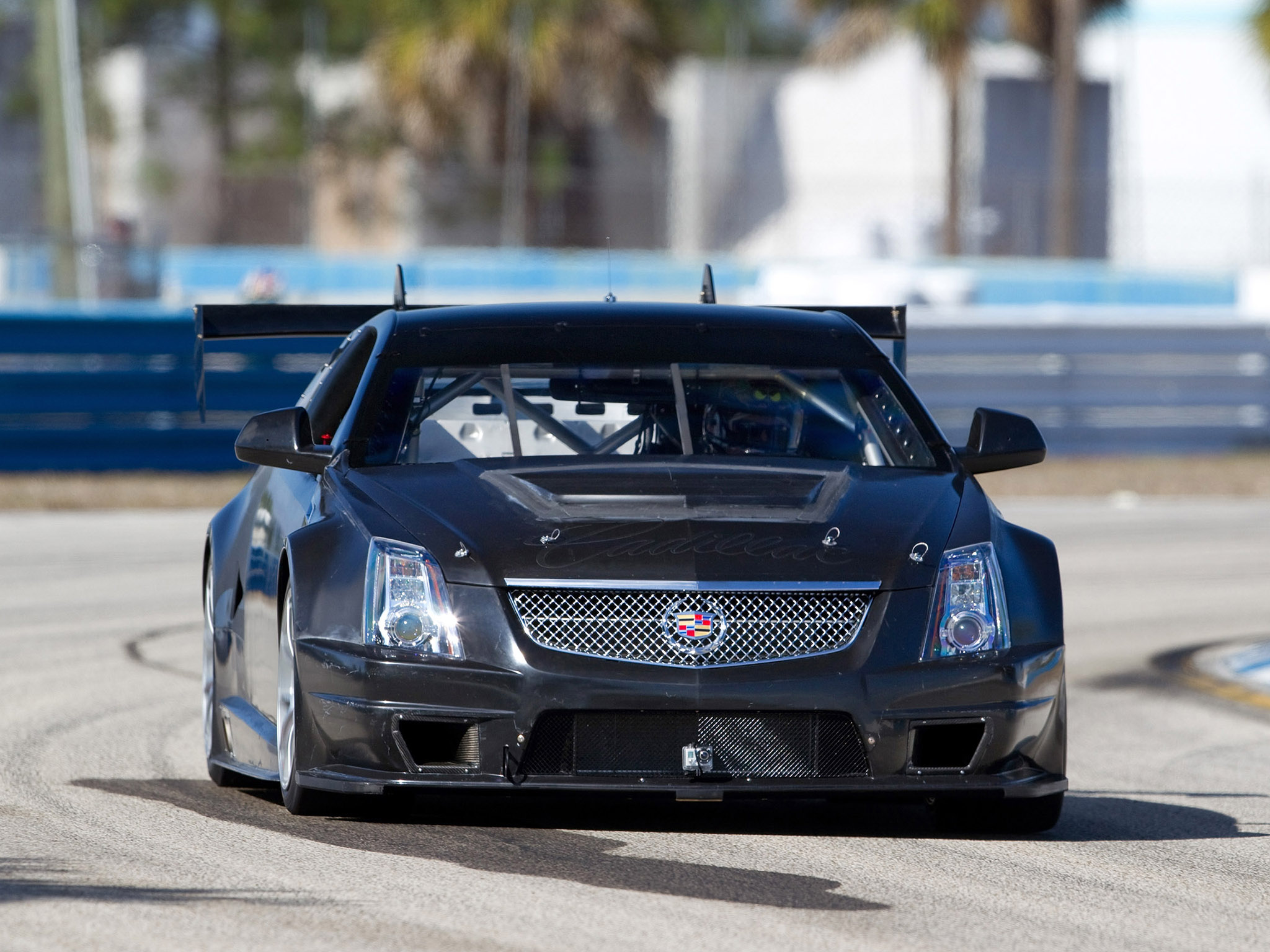 2011 Cadillac CTS V Racing Coupe race muscle gh wallpaper 2048x1536 2048x1536