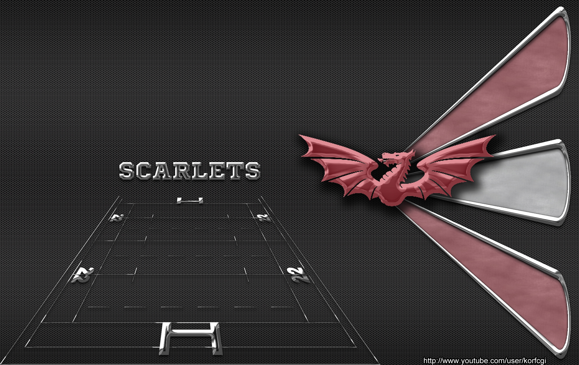 Welsh rugby clubs wallpapers by KorfCGI 1900x1200