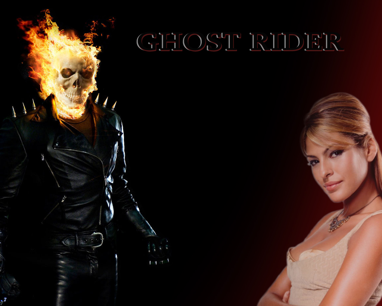 Ghost rider 2 wallpaper 1280x1024
